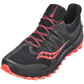 saucony Xodus ISO 3 Shoes Men Black/ViziRed